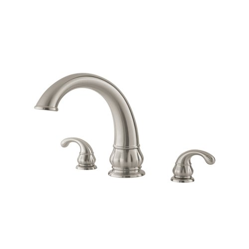 Pfister Treviso 2-Handle Roman Tub Faucet, Brushed Nickel
