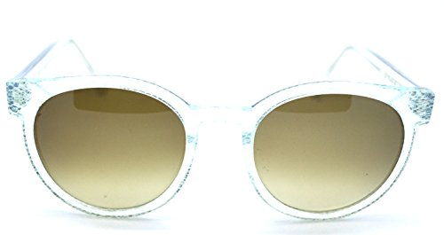 Thierry Lasry Excity 54 clear with green pattern Sunglasses (Thierry Lasry)