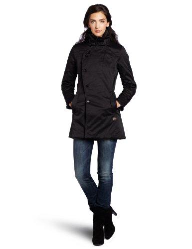 Amazon.com  G-Star Raw Women s Minor Trench Jacket, Black, Medium  Clothing 7210b3db264d