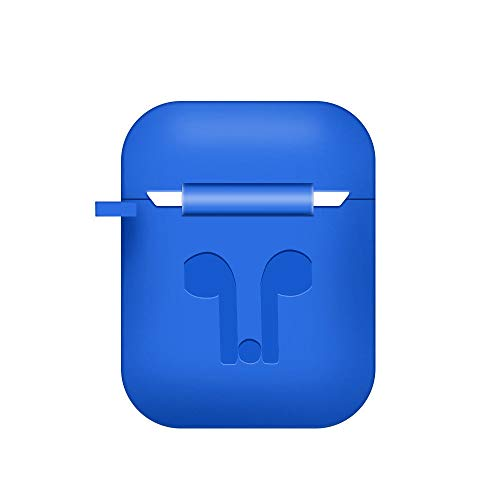 WensLTD Clearance! for AirPods Silicone Case Cover Protective Skin for Apple Airpod Charging Case (Blue) by WensLTD (Image #1)