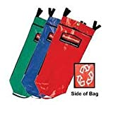 UNIVERSAL RECYCLING BAG SET OF 3 REDGRNBLU