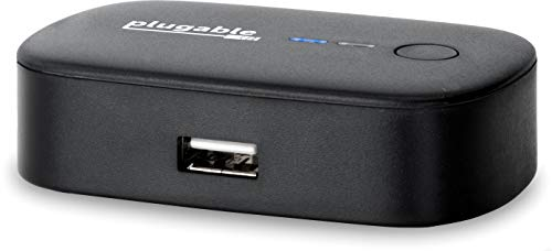 Plugable USB 2.0 Switch for One-Button USB Device Port Sharing Between Two Computers (A\B Switch)