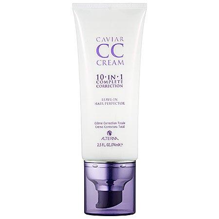ALTERNA Haircare CAVIAR CC Cream for Hair 10-in-1 Complete Correction 2.5 fl.oz/74ml.