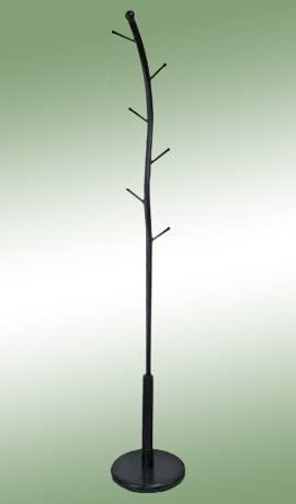 Black Metal Purse Hat Stand Coat Rack Hatrack Halltree