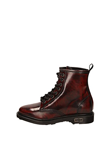 Pelle Leather Bordeau Black 18 Scarpe Donna Brushed 17 FW cle102615 Alice Mid1134 Cult 1wCp68