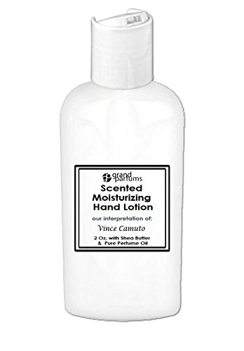 Grand Parfums 2 Oz Moisturizing Hand Lotion with Shea Butter