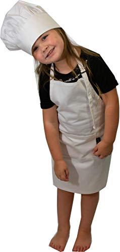 [해외]Sassy Chef Kids Chef Hat and Apron Set (Ages 6-12) / Sassy Chef Kids Chef Hat and Apron Set (Ages 6-12)