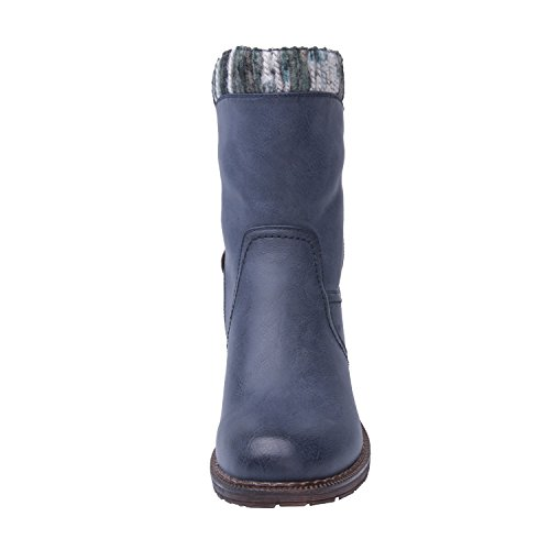 Global Win GLOBALWIN Womens KadiMaya16YY26 Boots Blue 9UhWl9tS