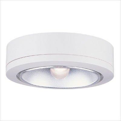 Sea Gull Lighting 9858-15 Ambiance LX Task Disk Light, White (Lighting Sea Plug Gull)