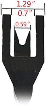 Starall nuova auto porta Trim clip rimozione pinza rimozione acciaio al carbonio pinze strumento