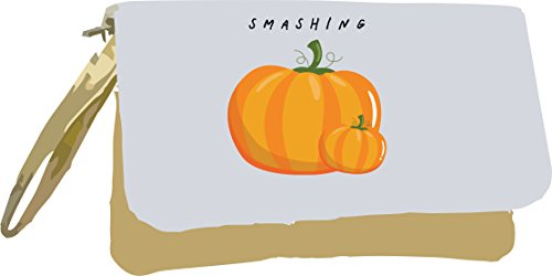 Fruit Gold Bag Pun Vegetable Jokes Smashing Metallic Gold Clutch and Pumpkins Ow50zqZ