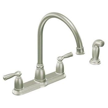 Moen Inc Ca87000srs Stainless Steel Kitchen Faucet