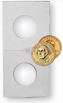 300 BCW Premium 2×2 Cardboard Coin Holders Small Dollar – Sacajawea Dollar