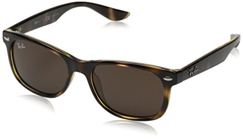 Ray-Ban Unisex-Child 0rj9052s 0RJ9052S Wayfarer Sunglasses, HAVANA, 47 - Kids Bans Ray