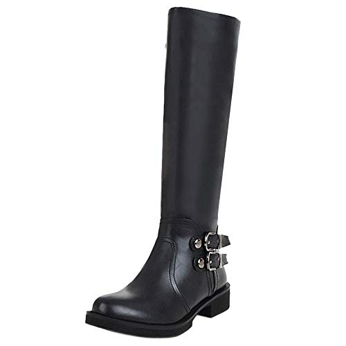 Heel Black Mid 2 Calf Boots Taoffenwomen Shoesfashionlow Ux8q5zHwn