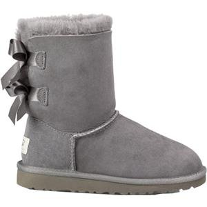 87810a68f4b UGG Australia Girls Bailey Bow Boot Grey Size 8 M US Toddler