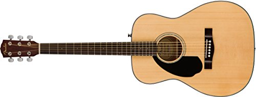 Fender Classic Design CC-60S Concert Left-Hand Acoustic Guitar, 20 Frets,