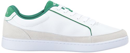 Lacoste Men's Setplay 317 1 Sneaker White/Green sale view best store to get cheap online szqC3K0o