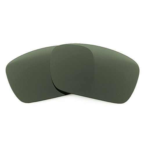 Revant Polarized Replacement Lenses for Oakley Fuel Cell Grey - Green Polarized Lenses Precision