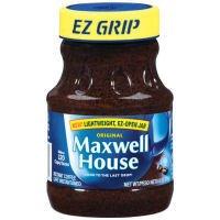 Maxwell House Original Instant Coffee in Plastic Jar 8 oz (Pack of 12)