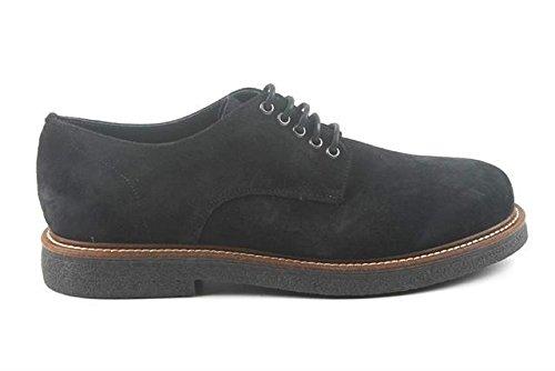 Zapatillas Para Hombre, Diseño de Derby Frau Suede 76B1 a 2015 Azul