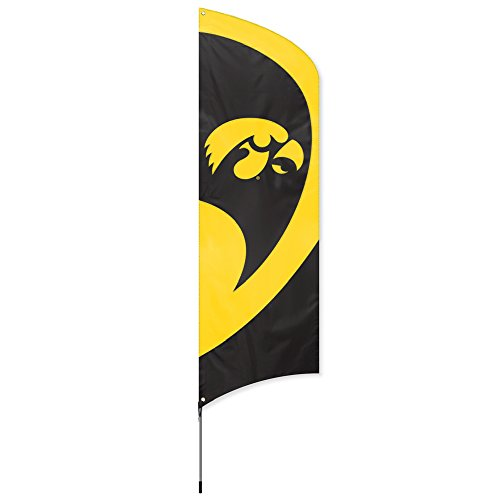 Ncaa Tailgating (Party Animal NCAA Iowa Hawkeyes College Tailgating Flag)
