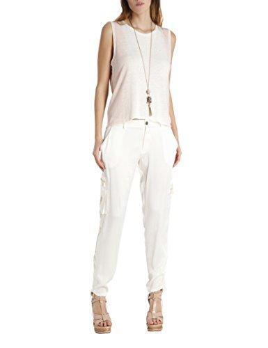 BDBA, Pantalones para Mujer Ivory