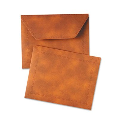 Expanding Catalog Envelopes (Designer Document Carrier, Expanding, Letter Size, 9 1/2 x 12, Brown, Sold as 2 Each)