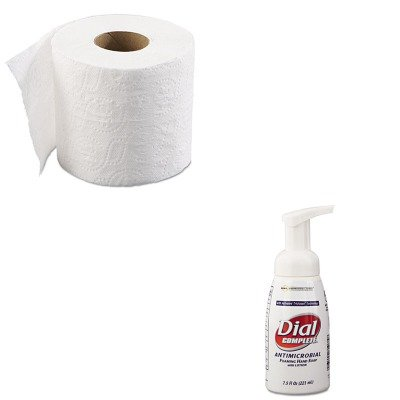 KITBWK6145DPR81075 - Value Kit - Dial Antimicrobial Healthcare Foaming Hand Soap (DPR81075) and Boardwalk 6145 Two-Ply Bathroom Tissue (BWK6145)