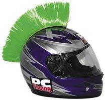 PC Racing Helmet Mohawk , Color: Green PCHMGREEN ()