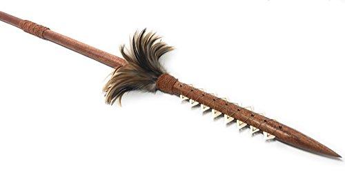 (Tikimaster Hawaiian Koa Spear 60
