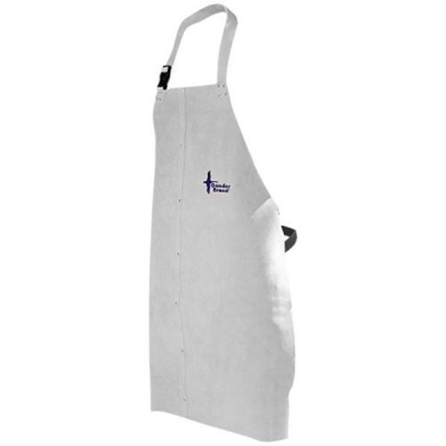 Universal Size Yellow Pack of 100 QC273BYL00010000 DuPont Tychem 2000 QC273B Disposable Bib Apron with Neck Loop and Waist Ties