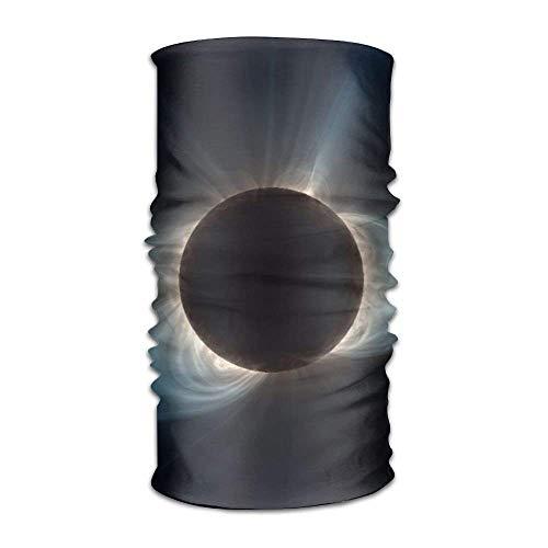 (Total Solar Eclipse 2017 Athletic Bandana Headbands,Head Wrap,Yoga Headband,Head Sarf,Hair Band for Women Men Children Running Sport 9.8 X 19.5 inch)