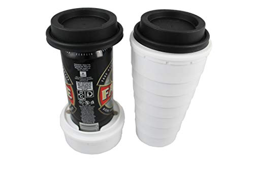 (Trinken Lid and Tall Boy Cup Can Cooler for 16oz cans - Hide Your Beverage and Keeps it Cold, Perfect for Outdoors and Events, Hiding from Kids Plus Insulates and)