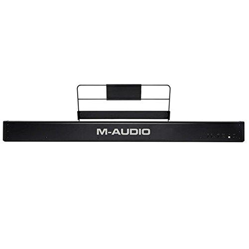 M-Audio Hammer 88 Key Hammer-Action USB MIDI Keyboard Controller + On Stage Pedal + Gator 88 Note Keyboard Gig Bag…