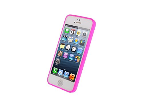 Mobilize Gelly Case Ultra Thin Apple iPhone 5/5S Neon Fuchsia