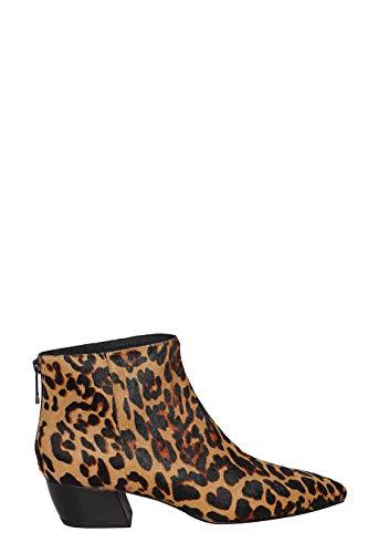 Eleganti Beige Da Casual What Fw18wf372 Maculato Leopardate For Scarpe Donna 39 Stivaletti wx04qSq6fO