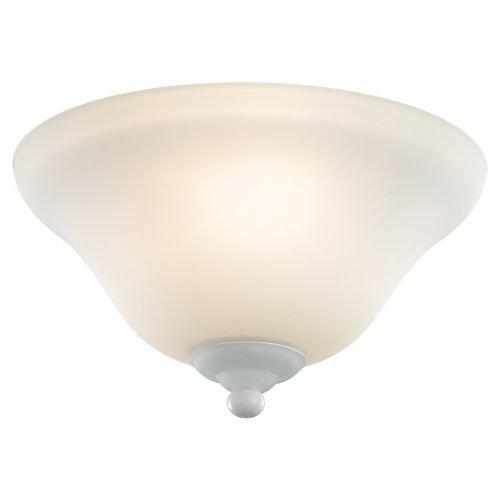 Sea Gull 16021BLE33 2 Light Ceiling Fan Light Kit, Satin White by Sea Gull Lighting