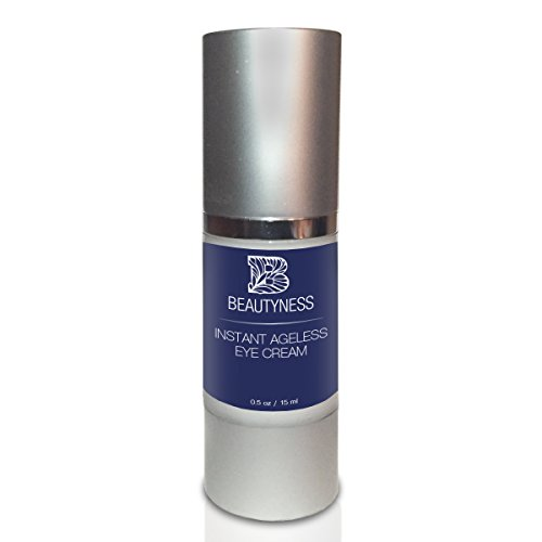 Instant Ageless Eye Cream - Anti Wrinkle Cream, Removes Under Eye Puffiness, Expression Line, Dark Circles. Disappear Before Your Eyes In Less Than 5 Minutes.