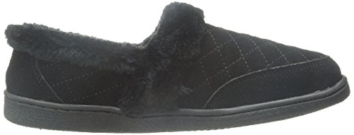 Clarks Black Back Closed WMS Quilted Women's Flat gxrYqg