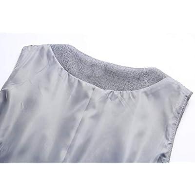 Vocni Women V-Neck Business Slim Fit Skinny Button Down Suit Dressy Vests Waistcoat at Women's Coats Shop