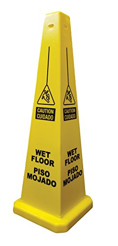Cortina 03-600-09 Lamba Cone 'Wet Floor' Spanish,  36