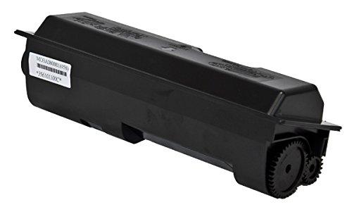 Compatible Black Toner Cartridge Replacement for KYOCERA MITA TK-142 (1T02H50US0), (TK-142) 4K Yield, W/CHIP