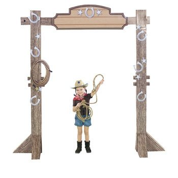 (3D Western Ranch Entry Arch)