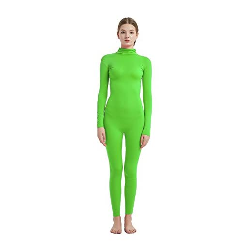 Full Bodysuit Womens Costume Without Hood Gloves Socks Spandex Zentai Unitard