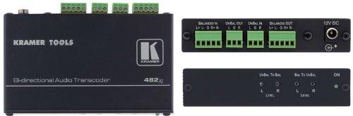 Kramer 482XL Balanced / Unbalanced Stereo Audio Transcoder (Video Transcoder)