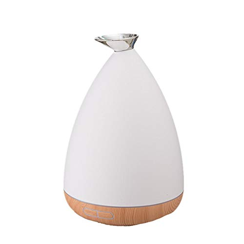 OWMEOT Purifier Wood Grain Aroma humidifier 500ml Aromatherapy Essential Oil Diffuser - Diffusers for Essential Oils with Color LED Lights Changing for Home, Yoga, Office, Spa, Bedroom, Baby Room