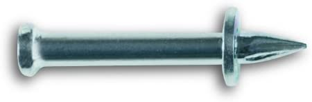 Powers Fastening Innovations 50298 Hammer Drive Pin 1-1/4-Inch Length 1/4-Inch Head 0.140 Shank Diameter, 100 Per Box
