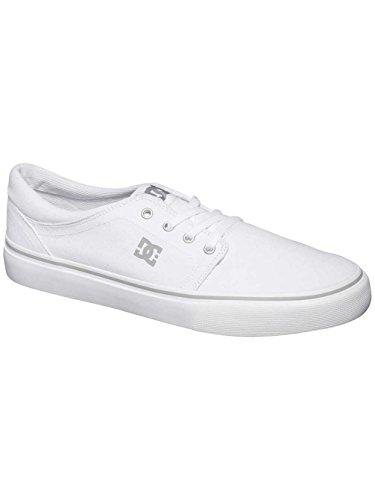 DC Shoes Trase Tx M Shoe - Zapatillas Unisex adulto Blanco