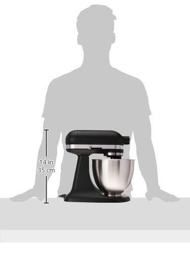 KitchenAid KSM3311XBM Artisan Mini Series Tilt-Head Stand Mixer, 3.5 quart, Matte Black by KitchenAid (Image #7)